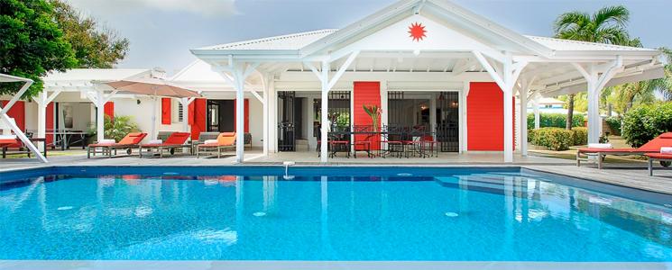 Photographie Villa Soleil Rouge