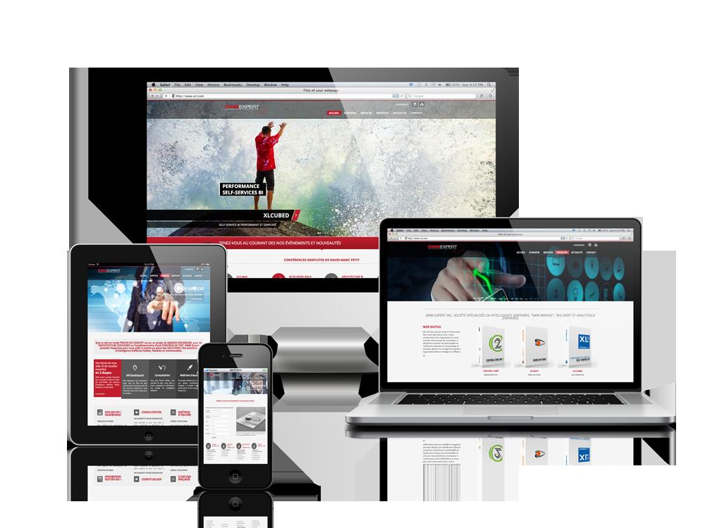 site internet corporatif