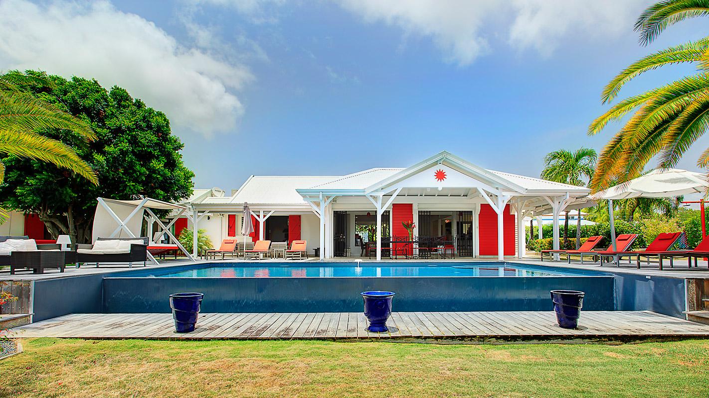 Photographie superbe villa guadeloupe
