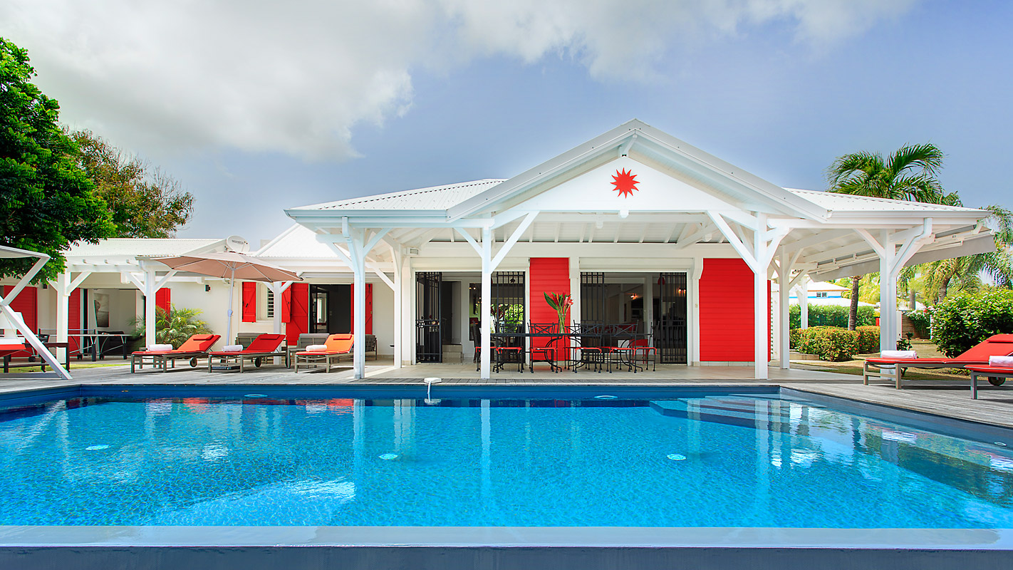 Photographie piscine villa guadeloupe