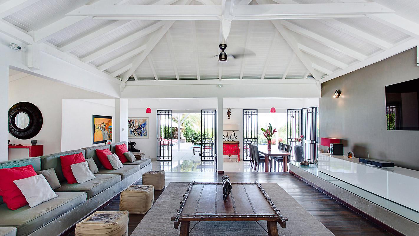 Photographie intérieur villa guadeloupe