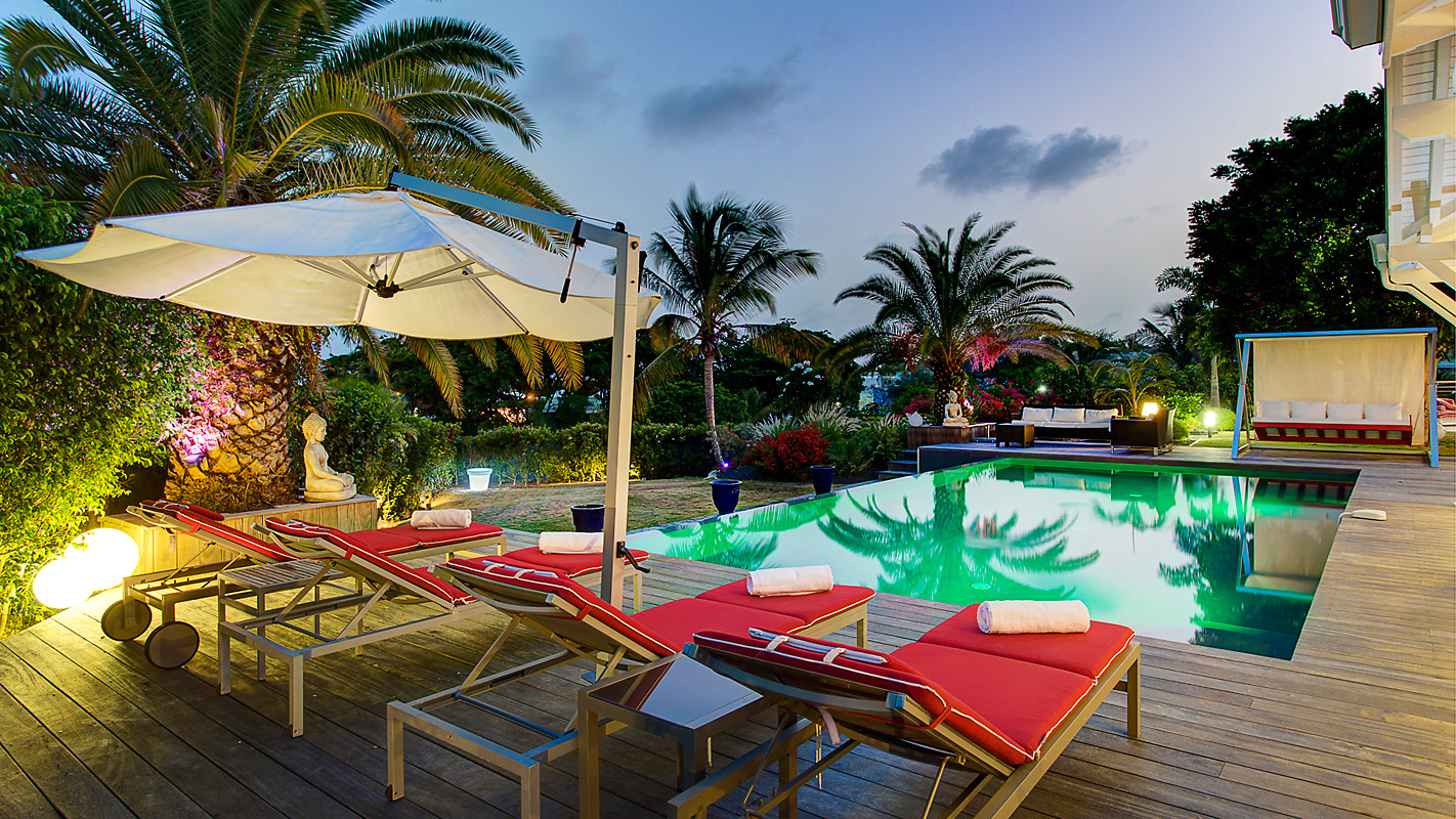 Photographie terrasse villa guadeloupe