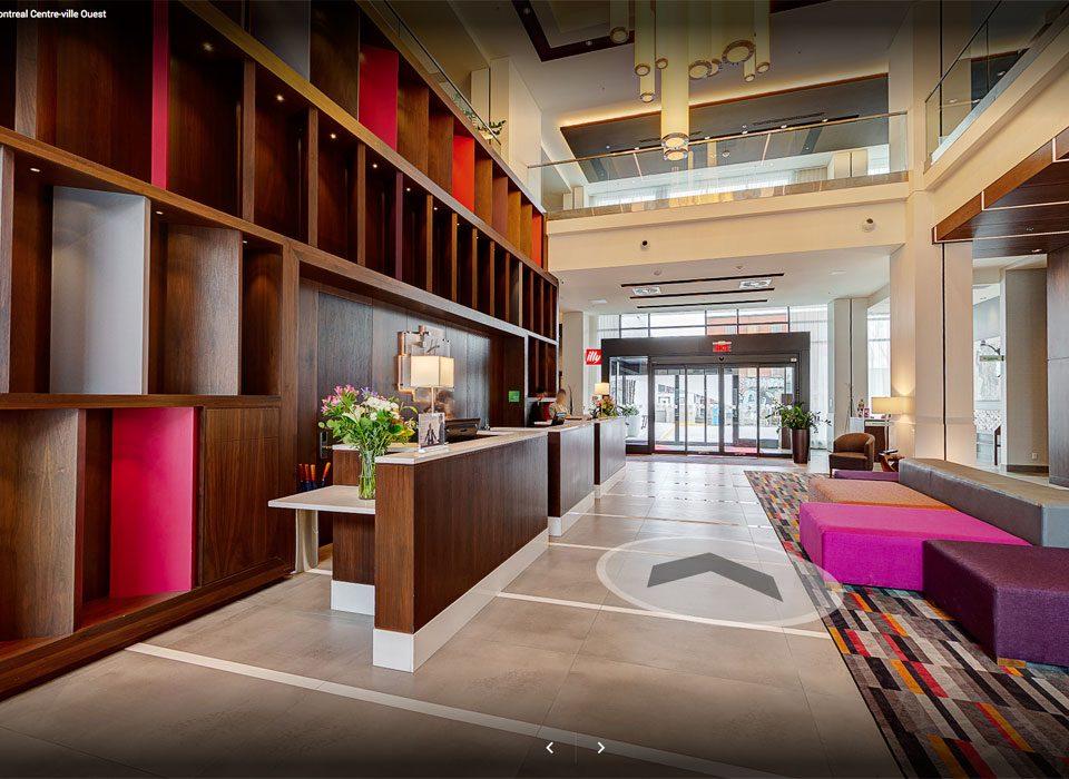 Google Street View - Hôtel Holiday Inn & Suites Montréal Centre-ville Ouest