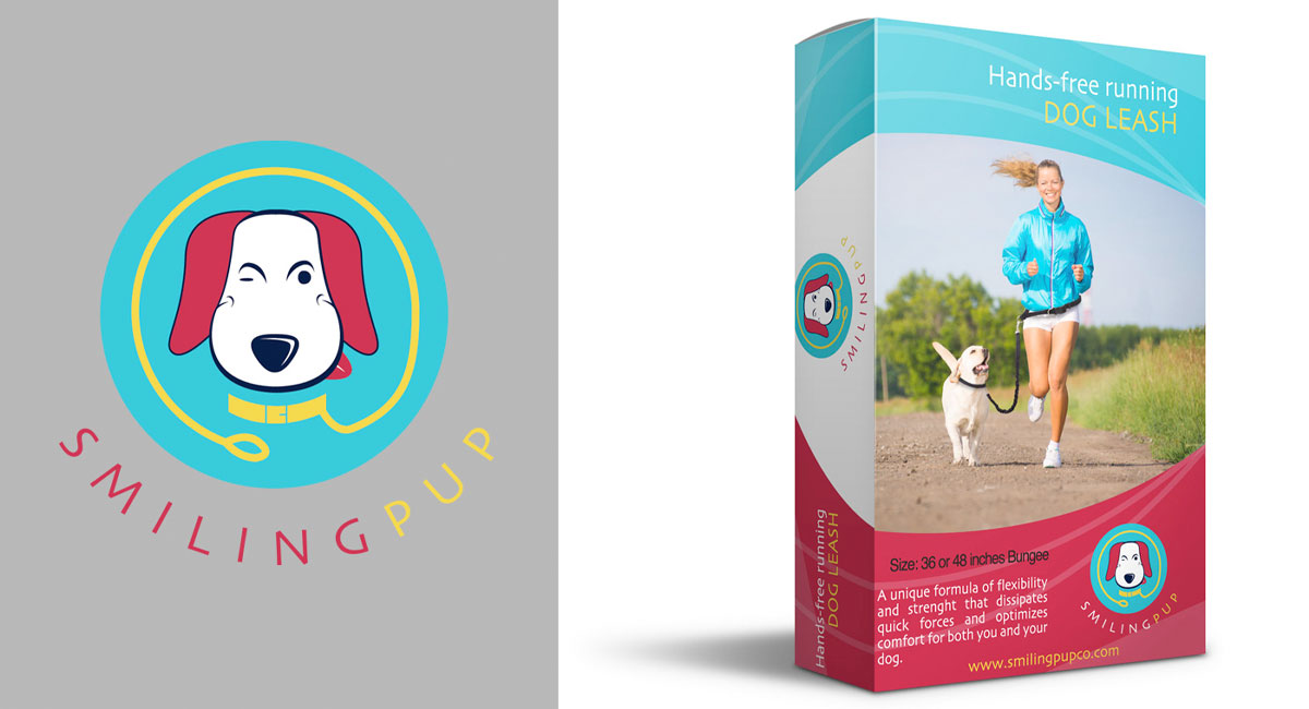 Smiling Pup packaging
